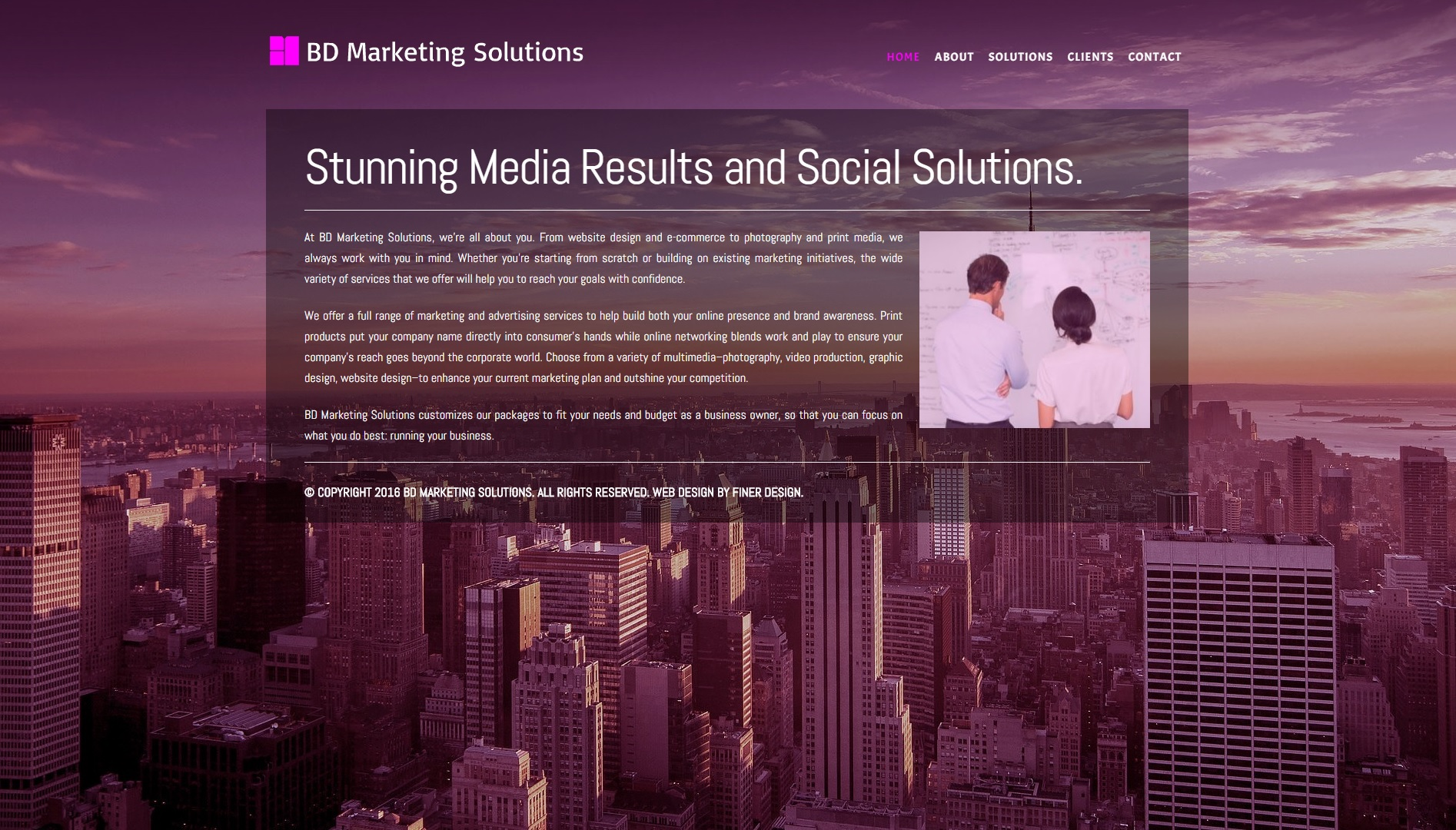 Marketing Website Design