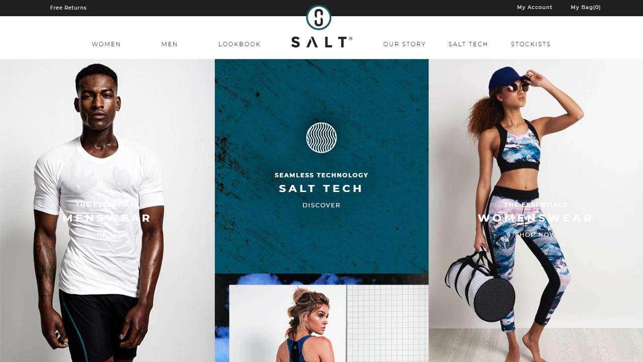 Sports eCommerce Web Design